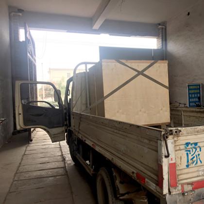 2019年1月22日黑龙江哈尔滨客户来厂考察现场提货2台发车